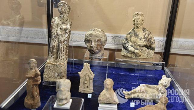 Экспонат выставки Достояние Республики. ФСБ России против черной археологии