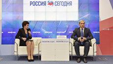 Пресс-конференция главы администрации Евпатории Андрея Филонова