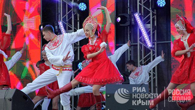 Концерт в честь Дня города в Севастополе