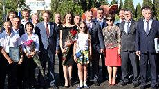 Высадка аллеи героев спорта Динамовский лес