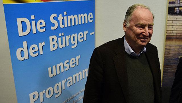 Вице-председатель партии Альтернатива для Германии Александр Гауланд. Архивное фото