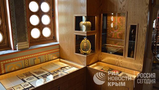 В Крыму заработал уникальный музей с экспонатами времен династии Романовых