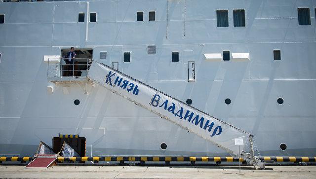 Круизный лайнер Князь Владимир. Архивное фото