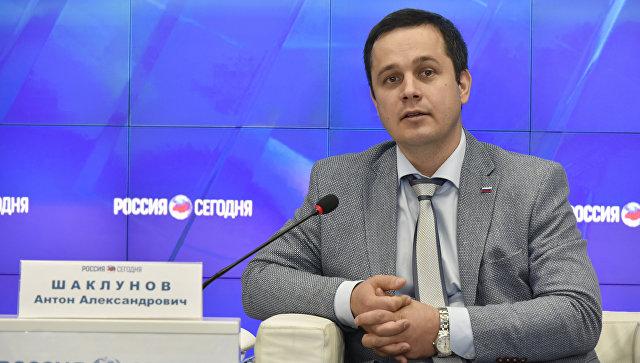 Заместитель министра здравоохранения РК Антон Шаклунов