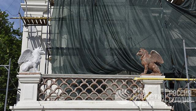 Реставрация фасада Феодосийской картинной галереи им. И.К. Айвазовского