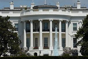 Официальная резиденция президента США - Белый дом в Вашингтоне. Архивное фото