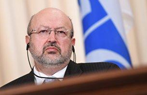 Генеральный секретарь Организации по безопасности и сотрудничеству в Европе (ОБСЕ) Ламберто Заньер. Архивное фото