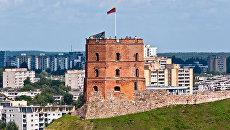 Башня Гедимина в Вильнюсе. Архивное фото