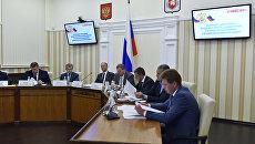 Совещание по вопросам обеспечения национальной безопасности в Симферополе