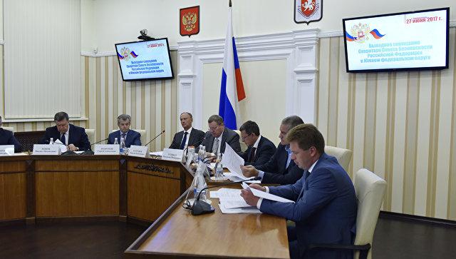 Патрушев обсудил вопросы интеграции верфей Крыма иСевастополя вОПК Российской Федерации