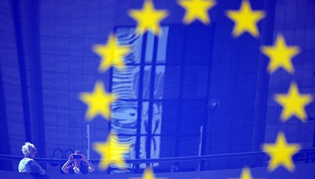 Флаг ЕС. Архивное фото