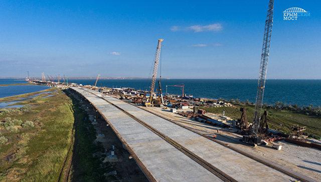 Основные конструктивы автодорожной части Крымского моста  готовы на 70 %