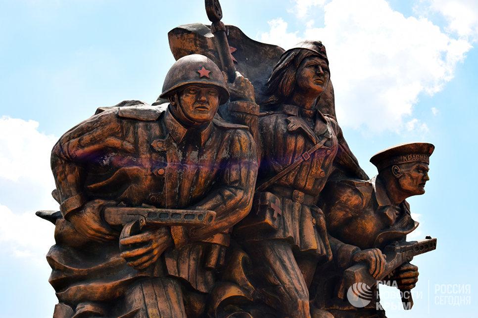 Памятник морским десантникам, погибшим в боях за Керчь в годы Великой Отечественной войны