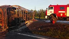 ДТП с автобусом в Татарстане. 2 июля 2017 года