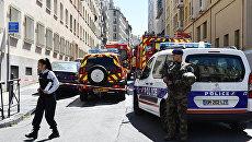 Сотрудники полиции во Франции