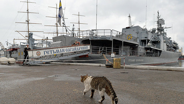 Украинский фрегат Гетман Сагайдачный