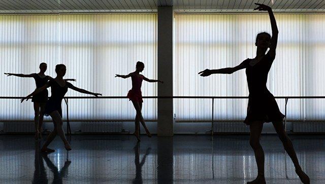 Балетная студия. Архивное фото
