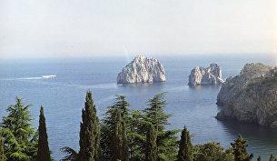 Морской пейзаж в Крыму