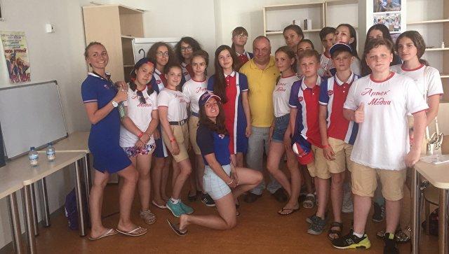 Медиа-кампус в МДЦ Артек, который провел советник МИА Россия сегодня Олег дмитриев