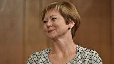 Марина Горбатюк  на заседании сессии Госсовета РК. 7 июля 2017