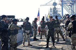 Военнослужащие США на военных учениях Sea Breeze. Архивное фото