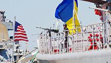 Украинско-американские военные учения Sea Breeze. Архивное фото