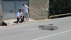 Участники проекта Дорожная инспекция ОНФ/Карта убитых дорог время рейда по ул. Леси Украинки в Симферополе