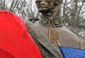 Памятник командиру УПА Роману Шухевичу. Архивное фото