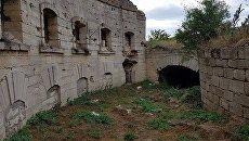 Редюит, укрепление защищавшее проход к Голубым воротам на территории крепости Керчь