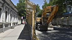 Ремонтные работы на улицах Симферополя