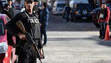 Сотрудники полиции Египта в Хургаде