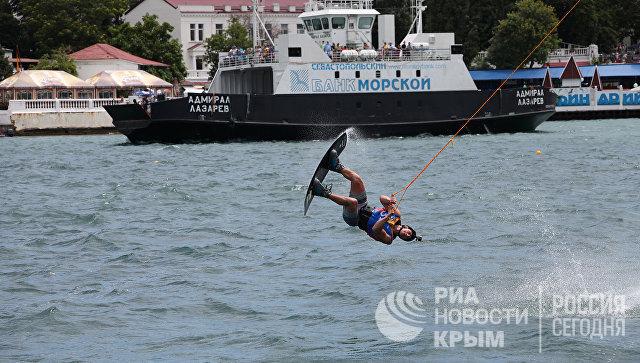 В Севастополе проходит фестиваль экстремальных видов спорта X-fest