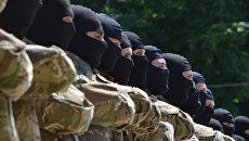 Бойцы батальона Азов. Архивное фото