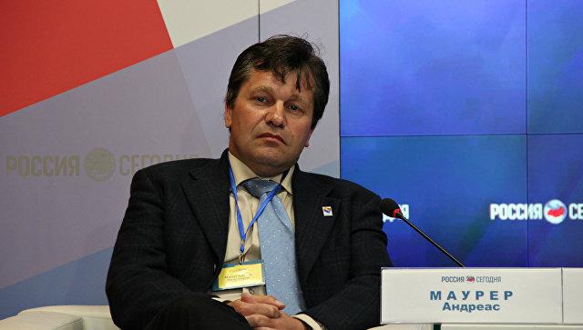 Председатель фракции левых в городе Квакенбрюке (Нижняя Саксония) Андреас Маурер