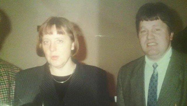 Канцлер Германии Ангела Меркель и немецкий политик Андреас Маурер