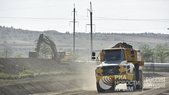 Строительство автоподходов в мосту через Керченский пролив