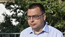 Руководитель Службы автомобильных дорог РК Алексей Сафронов