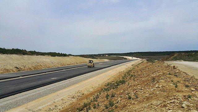 Строительство дороги Дубки-Левадки, которая станет частью объездной Симферополя