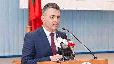 Президент непризнанной Приднестровской молдавской республики Вадим Красносельский