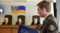Военный прокурор генеральной прокуратуры Украины Руслан Кравченко