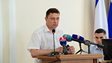 Глава департамента городского хозяйства Симферополя Юрий Тимонов
