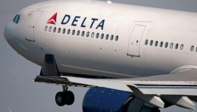 Самолет Delta Air Lines. Архивное фото