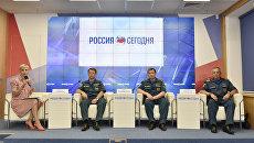 Пресс-конференция на тему: МЧС Крыма в курортный сезон-2017