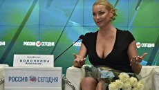 Балерина, танцовщица, заслуженная артистка России и общественный деятель Анастасия Волочкова
