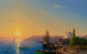 Вид Константинополя и Босфора, Иван Айвазовский