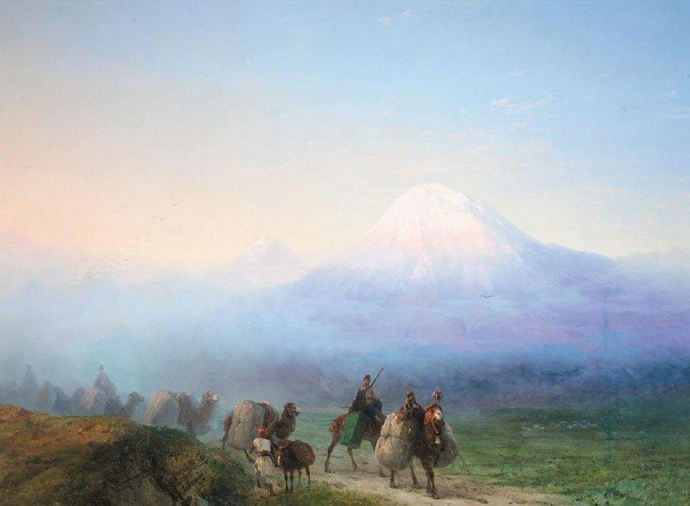 Гора Арарат, Иван Айвазовский