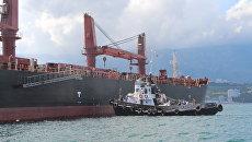 Операция по спасению членов экипажа с сухогруза Anda, который затонул у берегов Крыма