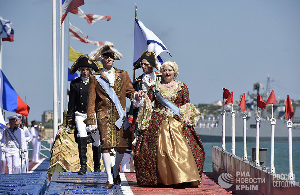 Военно-исторический праздник, посвященный Дню ВМФ России в Севастополе