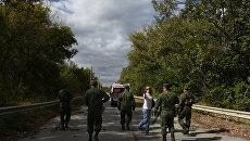 Обмен военнопленными между ДНР, ЛНР и Украиной в Донбассе. Архивное фото