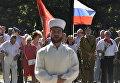 Молебен в честь Дня ВДВ в Симферополе